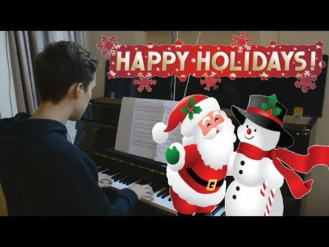 We Wish You a Merry Christmas  Advanced Piano Solo + FREE SHEETS