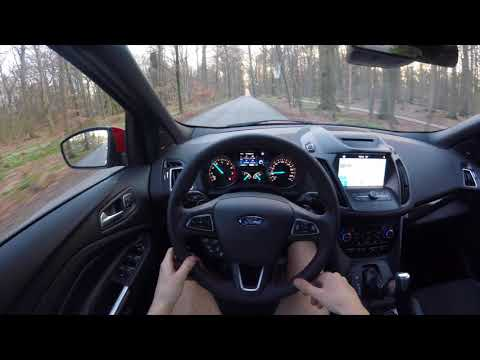 2018 Ford Kuga ST 240 HP - POV Review