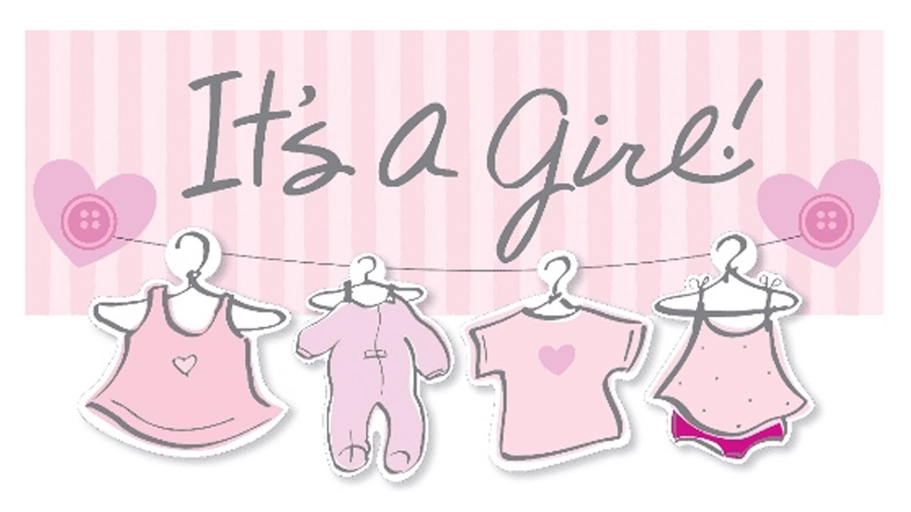 It's A Girl!!! - YouTube