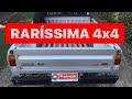 Ford Pampa 4x4 1995 1.6 Álcool, 02 tanques de combustível Raridade