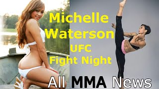 Michelle Waterson - the Sexy Karate Hottie - Prepares for UFC Fight Night