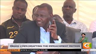 Mbadi claims DP Ruto allies plan to impeach Matiang'i