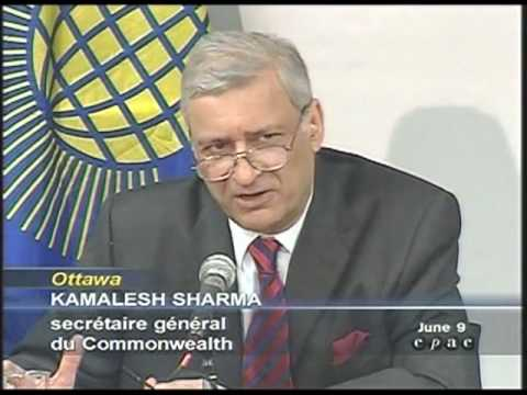 Secretary-General Of The Commonwealth:We Are Becoming World Citizens (Globalist Chatter)