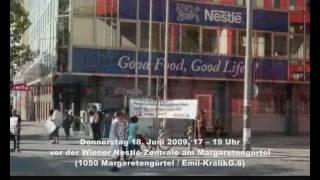 Nestle Kills Workers!!! Kundgebung ( Nestle 18.06.09 ) YOUR STRUGGLE IS OUR STRUGGLE