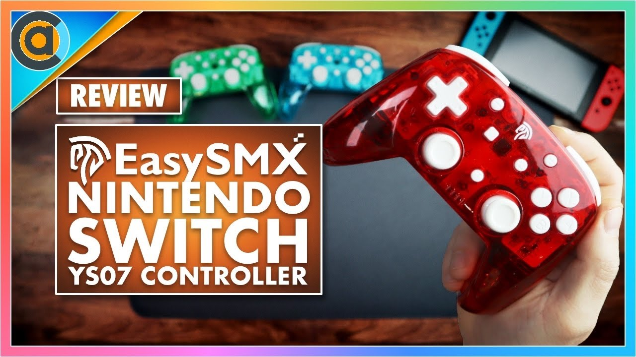 REVIEW: EasySMX YS07. CHEAP and FANTASTIC pro controller alternative for Nintendo Switch