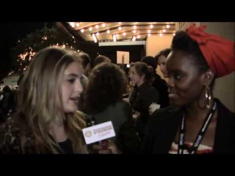 Sophie Curtis interviewed by SpiderwoodTV at the Premiere of INNOCENCE