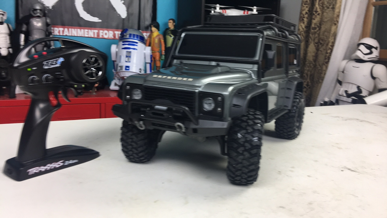 Live Look At The New Traxxas Trx 4 Rc Land Rover Defender Youtube Challenge