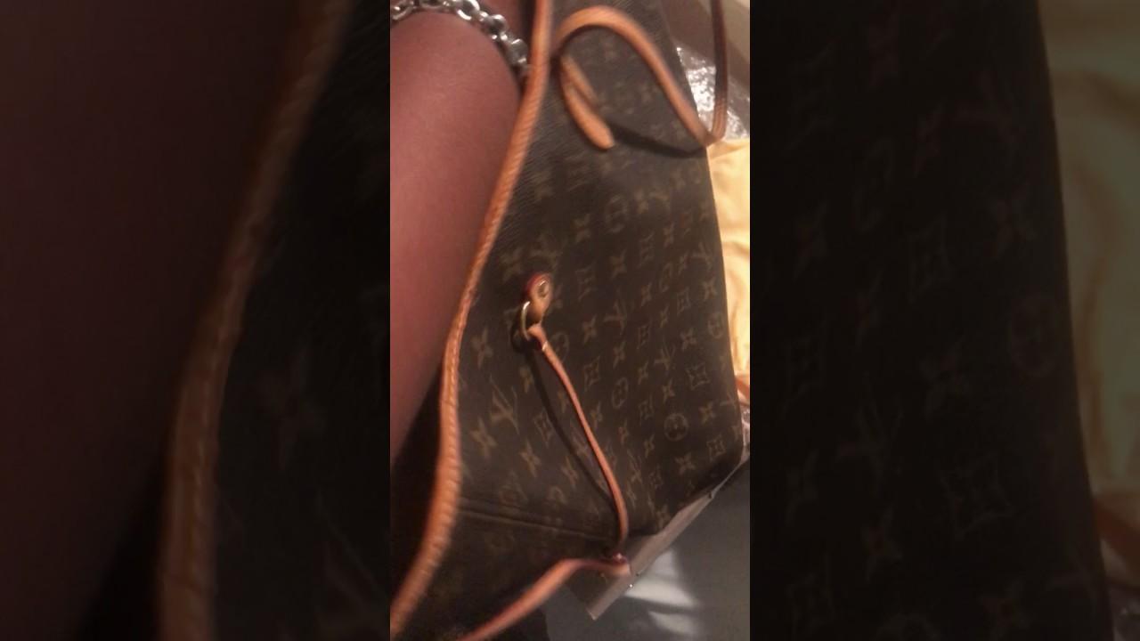 Louis Vuitton - Neverfull GM - Preloved eBay Purchase - YouTube b81cf1da0643f