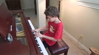 2015-04- Bubby (10 yrs) Grieg Smatrol (Puck) (1st Place National Piano Competition)
