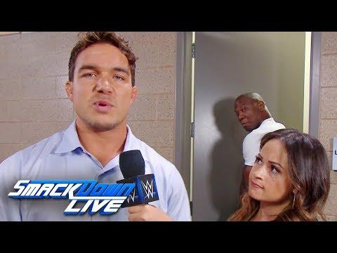 Shelton Benjamin belittles Chad Gable: SmackDown LIVE, Aug. 20, 2019
