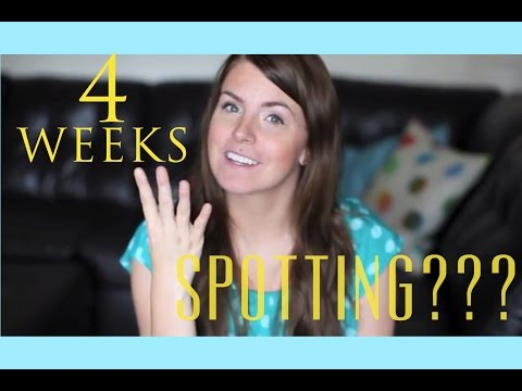 IVF Pregnancy: 4 WEEKS & SPOTTING?