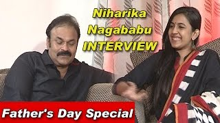 Niharika & Naga Babu Exclusive Interview | Father's Day Special | TV5 News
