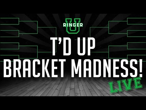 'T'D Up' Bracket Madness Live | NCAA Tournament | The Ringer