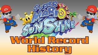 The World Record History of Super Mario Sunshine any%