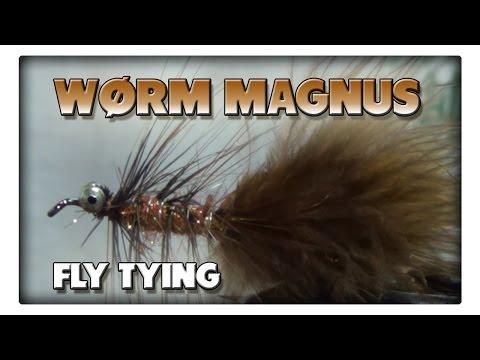 Fliegenbinden - Wørm Magnus - effektiv und einfach zu binden