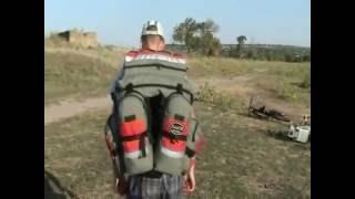 Видеообзор велосумка, велорюкзак, велобаул, сумка для велосипеда DenVik country