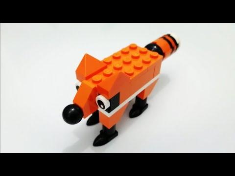 LEGO Fox Mensuel Construction 40218 Sac en Plastique Neuf Emballé