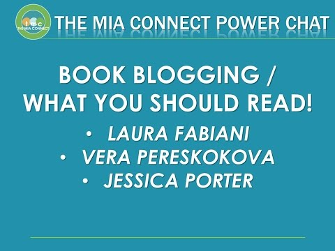 The Mia Connect Power Chat - Book Bloggers & What to Read!