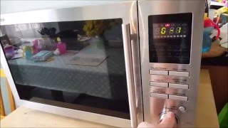 Sharp R82STMA 25 Litre Combination Microwave Oven review