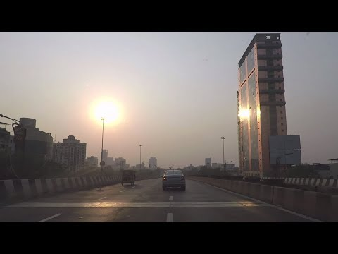 Driving in Navi Mumbai (Panvel to Vashi) - Maharashtra, India