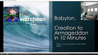 Babylon. From Creation to Armageddon in 10 Minutes 09232020
