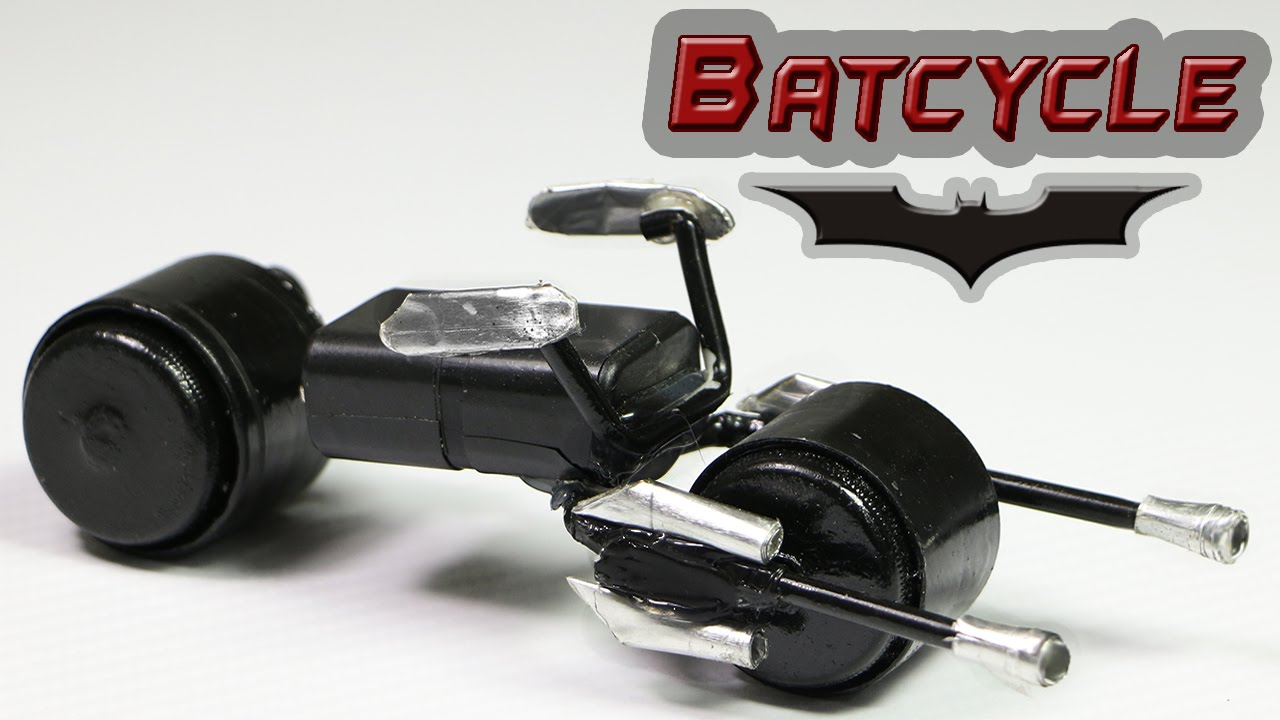 How To Make A Batman Motorcycle - \