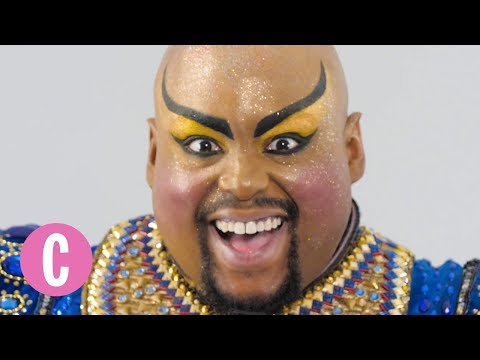 """The Genie from """"Aladdin"""" on Broadway's Magical Transformation 