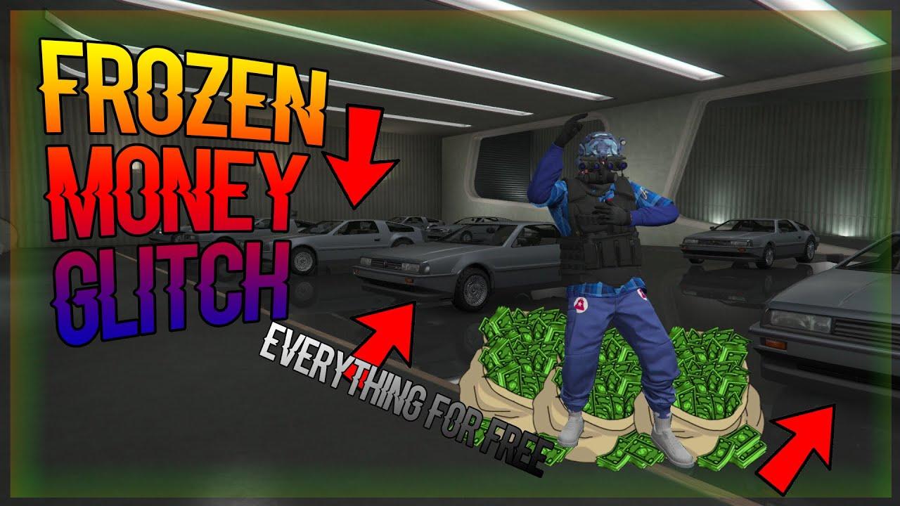 Gta frozen money