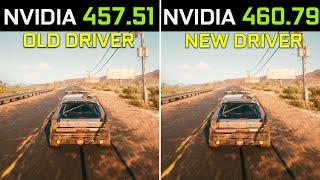 Nvidia Driver 457.51 vs 460.79…