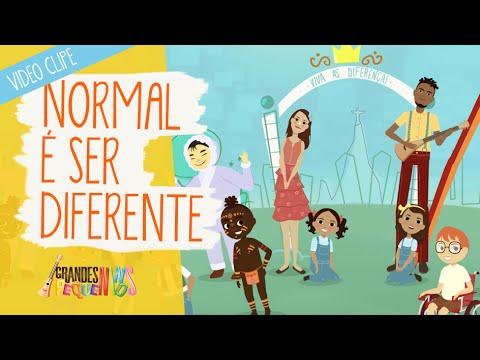 ca9c6f47289 Normal É Ser Diferente - Grandes Pequeninos - YouTube