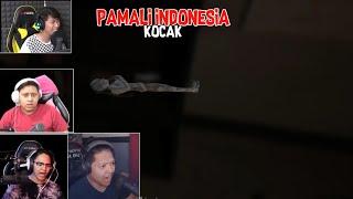 Reaksi Kaget Dan Kocak Dari Youtuber Gaming Indonesia Main Pamali