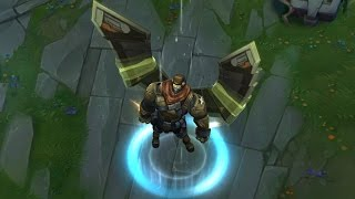 LoL Commando Galio Update (League of Legends PBE Skin Spotlight)