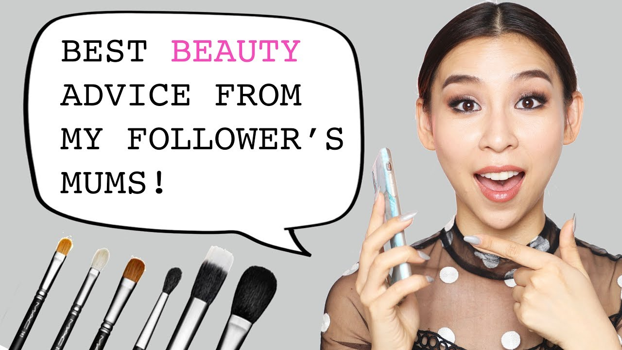 Reading Out Beauty Advice From My Follower's Mums – Tina Yong