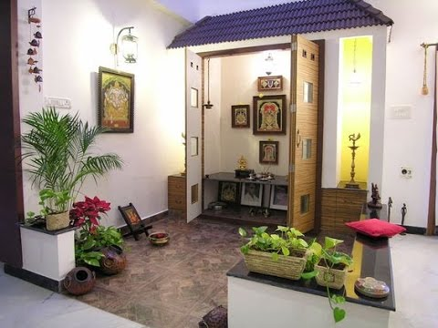 Latest pooja room designs ideas youtube for Latest room design