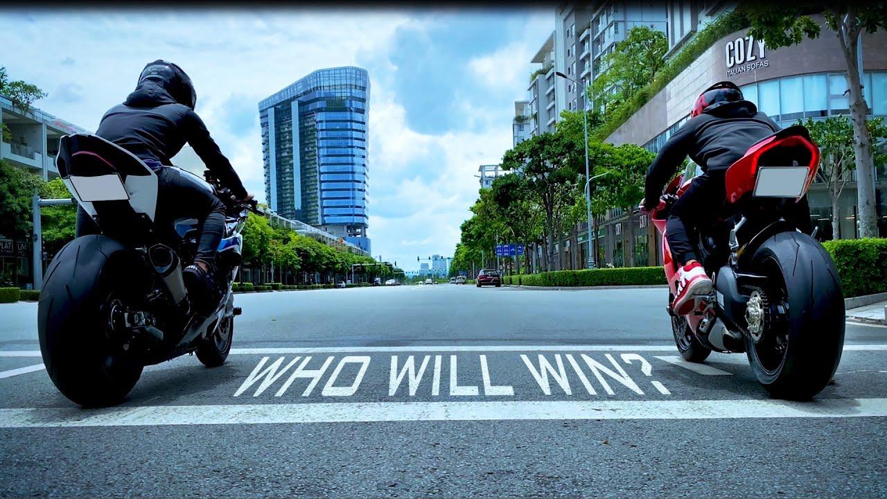 BMW S1000RR và DUCATI PANIGALE V4, ai sẽ thắng???