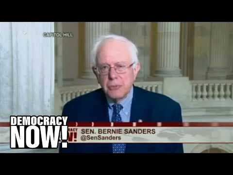 "Sen. Bernie Sanders: Supreme Court Undermines Democracy By Allowing Billionaires to ""Buy Elections"""