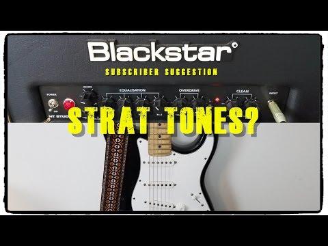 Blackstar HT Studio 20 Strat Tones - Subscriber Suggestion