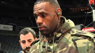 Cleveland Cavaliers LeBron James calls Cam Newton a 'rare' talent
