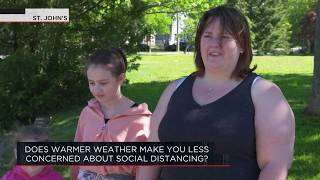 Does warmer weather make you less concerned about social distancing? | Outburst