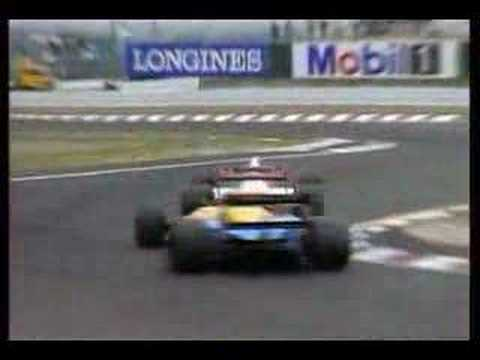 Senna & Prost minor collision of the 1989 F1Japan Grand Prix