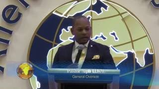 Pastor Alph LUKAU - He touched the coffin