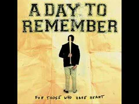 A Day To Remember - You Should Have Killed Me....