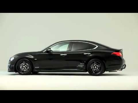 Infiniti G35 Vaydor >> Custom Infiniti M37 with Varis Body Kit - YouTube