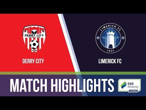 HIGHLIGHTS: Derry City 5-0 Limerick FC
