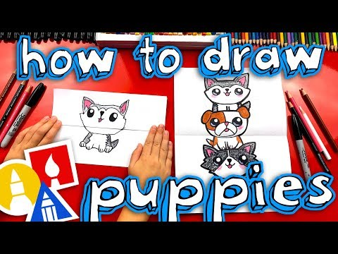 how-to-draw-a-puppy-stack-(folding-surprise)