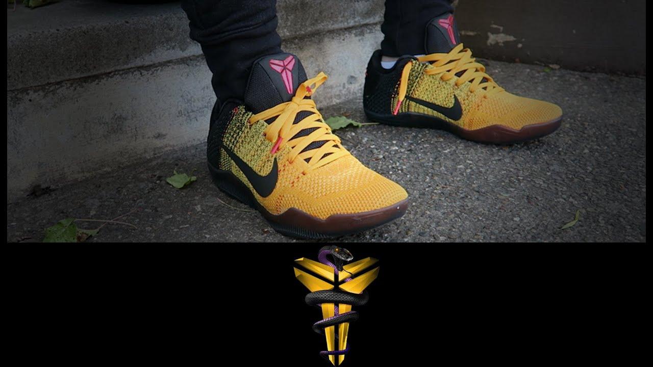 3e9be93143f1 Nike Kobe XI (11)  Bruce Lee  - YouTube