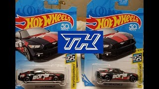Hot Wheels D Case Dump Bin $core! $uper Borla Mustang x2!!!