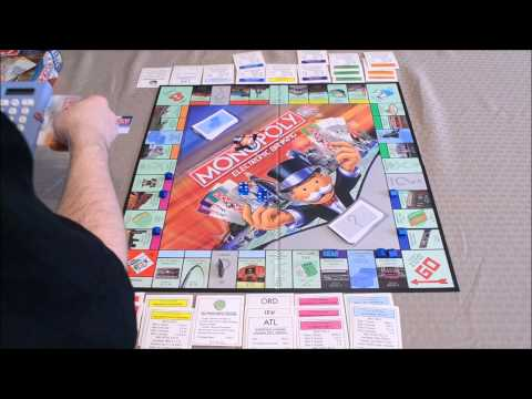 DGA Plays Board Games: Monopoly: Electronic Banking W/ Dad & Vinnie Jr