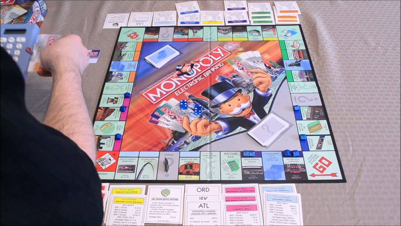 Dga Plays Monopoly Electronic Banking W Dad Vinnie Jr Ep 32