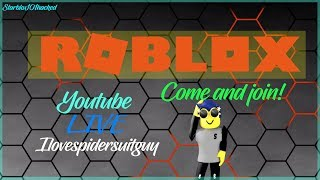 HAVING SOME MAGIC ON ROBLOX! - Roblox livestream with spidersuitguy